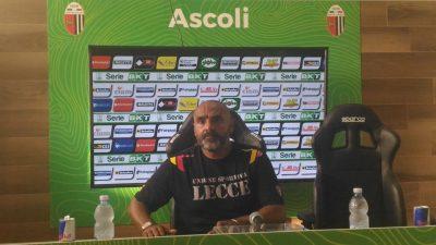 Liverani, mister Lecce (foto Chiara Poli)