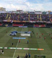 Foggia-Ascoli riscaldamento campionato serie B 2018-19