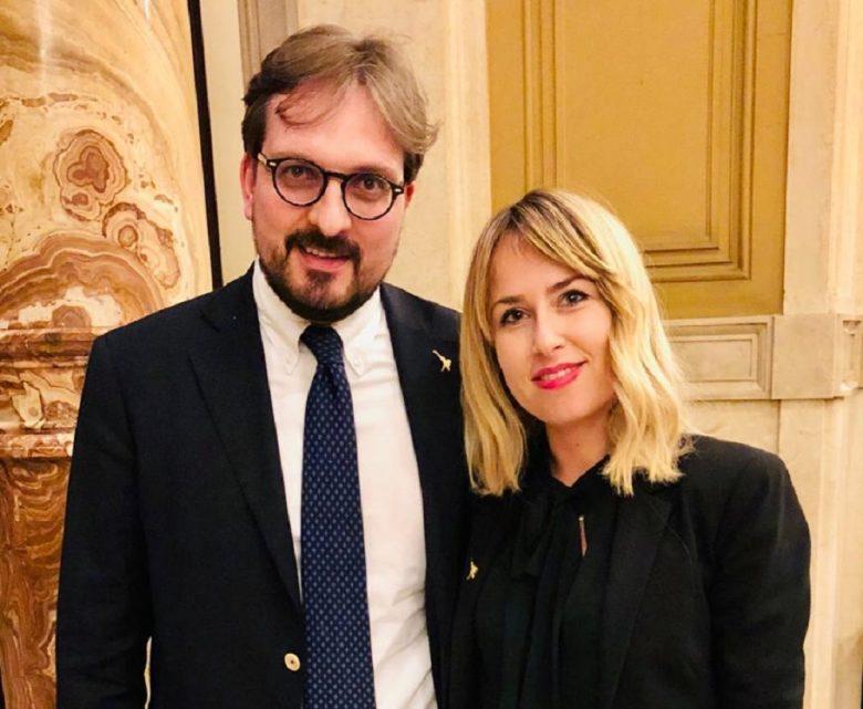 Sottosegretario Guido Guidesi e onorevole Giorgia Latini