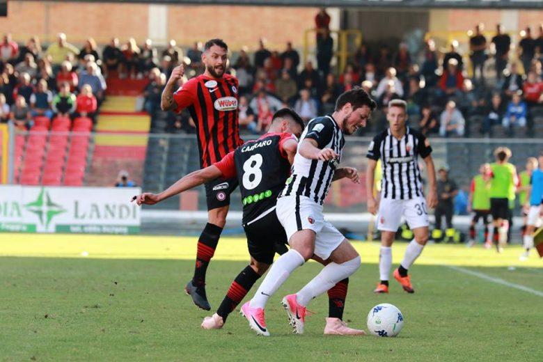 Foggia-Ascoli, Ninkovic (foto ascolicalcio pagina facebook)