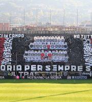 Curva sud Ascoli calcio coerografia