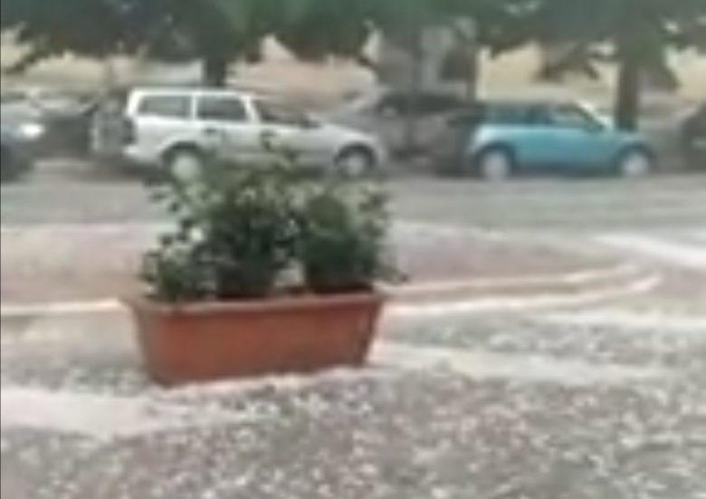 Foto Video Bufera Ad Ascoli E Dintorni Stop Alla Pioggia Ma