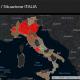 Coronavirus covid-19 diffusione in Italia