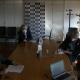 Ceriscioli in videoconferenza con l'ufficio stampa regionale