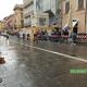 Giro d'Italia ad Ascoli, primi corridori in piazza Arringo